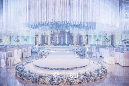janny婚礼堂设计作品《浪漫之城》