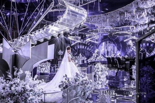 TIME时刻紫色系婚礼策划案例