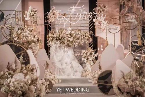 也地婚尚:新中式与超现实主义的结合,给予你一场绮丽的梦