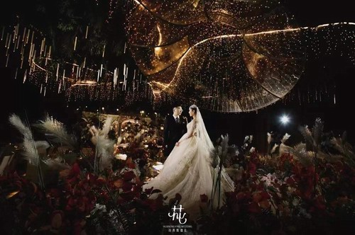 """花弄影婚礼:霍格沃茨的魔法婚礼""""Love is the highest magic"""""""