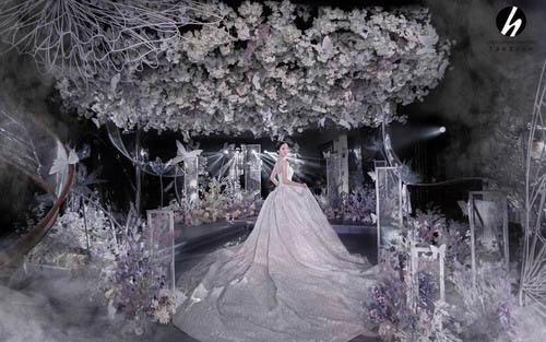 兰玉坊宴会设计婚礼策划作品《熠熠生辉》