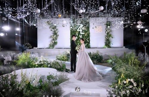 兰玉坊宴会设计婚礼策划作品《pureness》