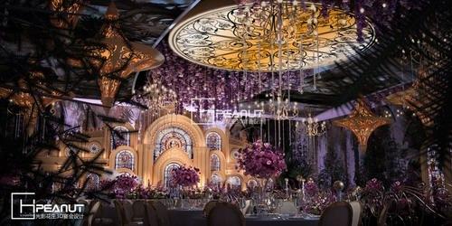 光影花生《哥德风情》婚礼堂3D设计效果图