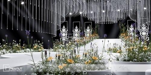 光影花生《水晶恋》简约婚礼3D设计