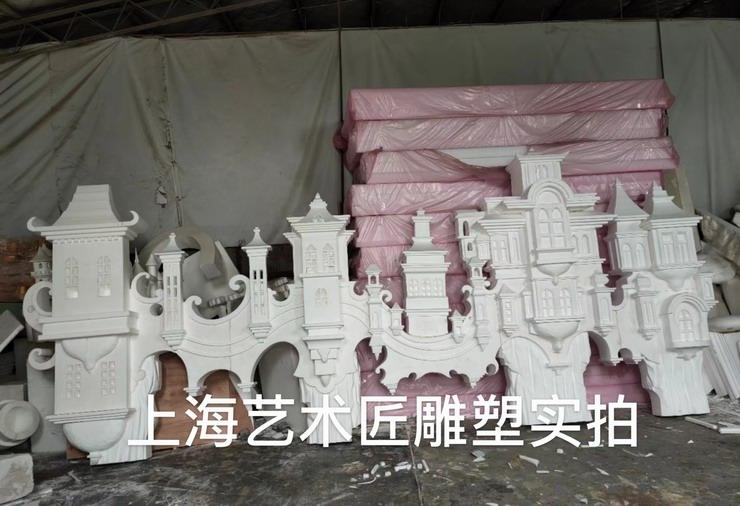 上海艺术匠雕塑城堡泡雕系列