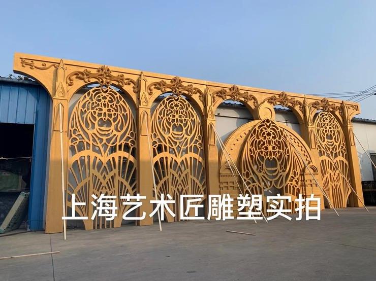 上海艺术匠雕塑拱门泡雕系列