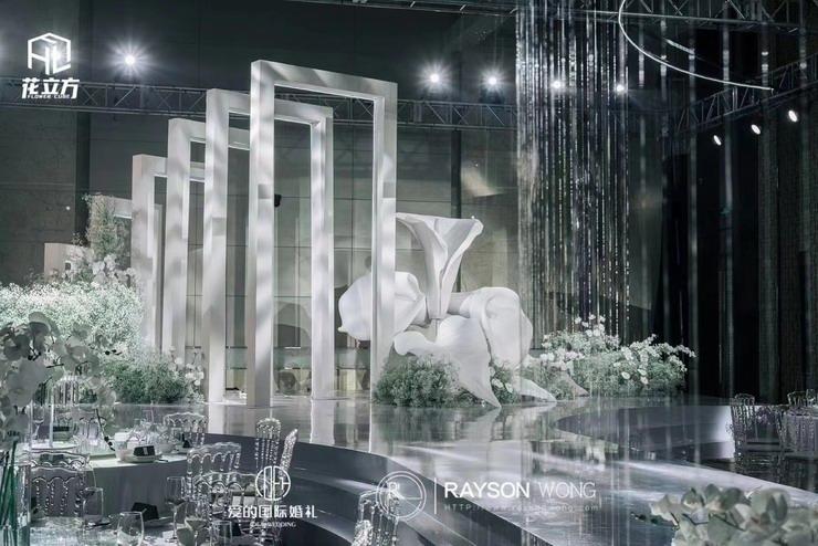花立方婚礼现场2